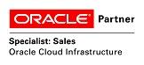 Logo Oracle Specialist Sales